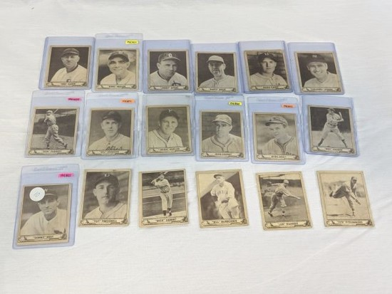 1940 Play Ball R335 Lot of 18