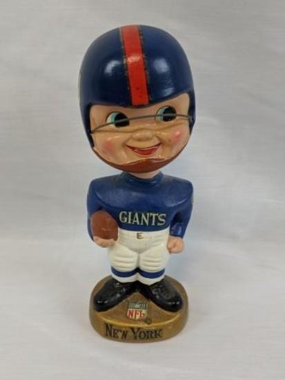 1967 New York Giants nodder, round gold base
