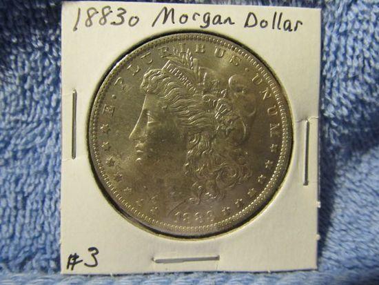 1883O MORGAN DOLLAR BU