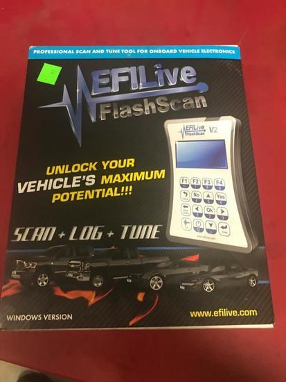 EFI Live Flashscan System with box
