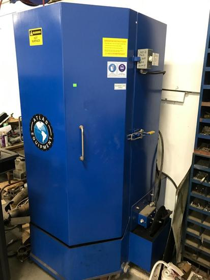 Atlas Model No. SWC-750 Parts Cleaner with 3 HP motor, 220 volt, 53 gallon Unit was installed in