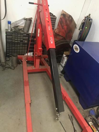 3 Ton Folding Hydraulic Engine Hoist