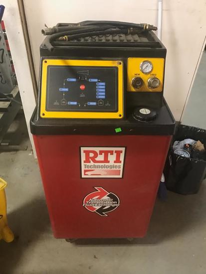RTI Technologies Automatic Transmission Fluid Exchanger, runs on a 12 volt battery