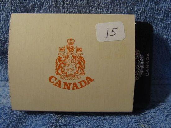 1977 CANADIAN JUBILEE SILVER DOLLAR IN HOLDER PF