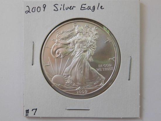 2009 SILVER EAGLE BU