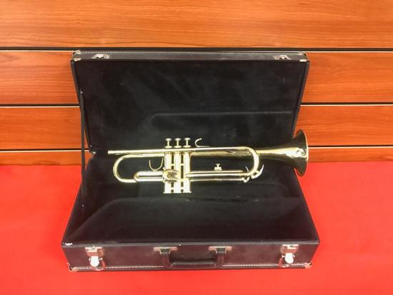 Blessing Trumpet with case, #481096 Needs Mouthpiece, but ready to go otherwise