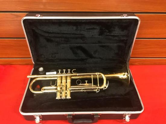 Antiqua Trumpet with hard side case, ready to go