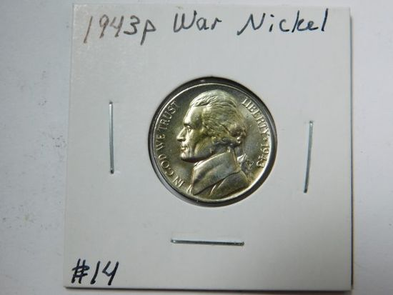 1943P JEFFERSON NICKEL BU