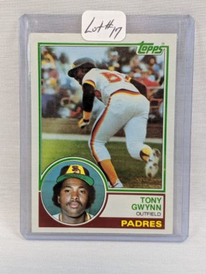 1983 Topps Tony Gwynn Rookie #482