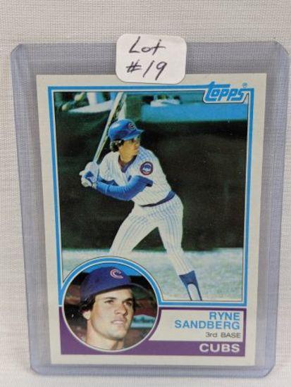 1983 Topps Ryne Sandberg Rookie #83