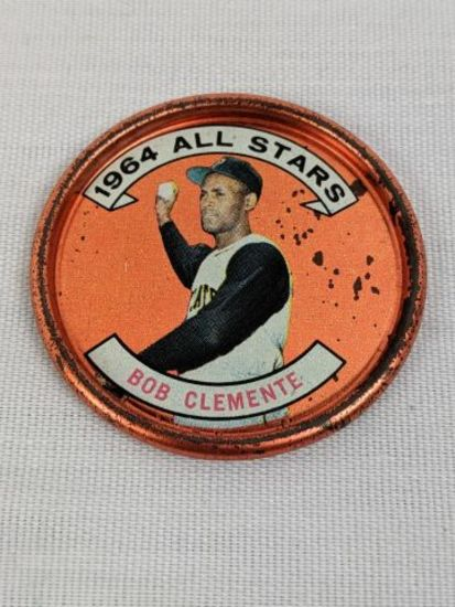 1964 Topps Roberto Clemente All Star Coin