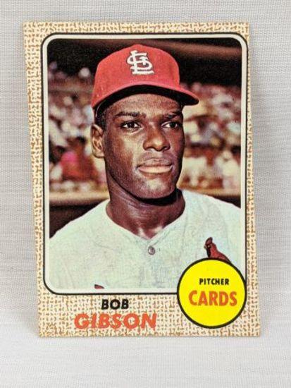 1968 Topps Bob Gibson # 100
