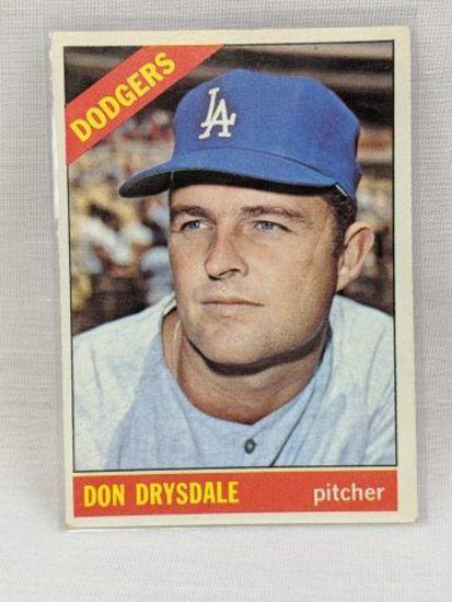 1966 Topps Don Drysdale #430