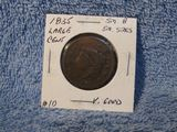 1835 SMALL-8 & STARS LARGE CENT G+
