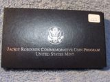 1997 JACKIE ROBINSON COMMEMORATIVE PF SILVER DOLLAR