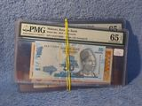 10 DIFFERENT WORLD NOTES GRADED PMG 65 EPQ