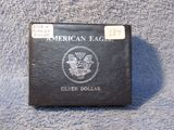 2008W BURNISHED SILVER EAGLE IN BOX BU