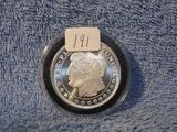 MORGAN 1-OZ. .999 SILVER ROUND PF