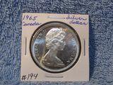 1965 CANADIAN SILVER DOLLAR BU