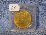 1904 $20. ST. GAUDENS GOLD PIECE BU