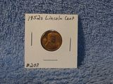 1952S LINCOLN CENT BU RED