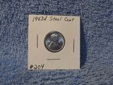 1943D LINCOLN STEEL CENT BU