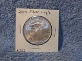 2010 SILVER EAGLE BU