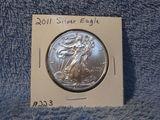 2011 SILVER EAGLE BU