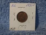1931S LINCOLN CENT AU