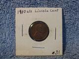 1910S/S LINCOLN CENT AU