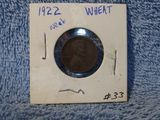 1922 WEAK-D LINCOLN CENT