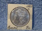 1883S MORGAN DOLLAR BU