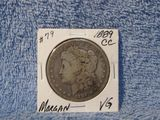 1889CC MORGAN DOLLAR VG