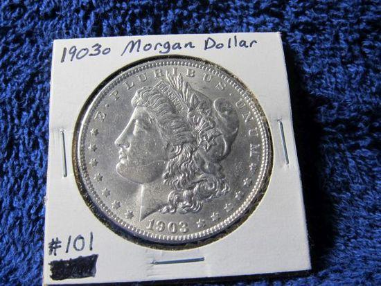 1903O MORGAN DOLLAR BU