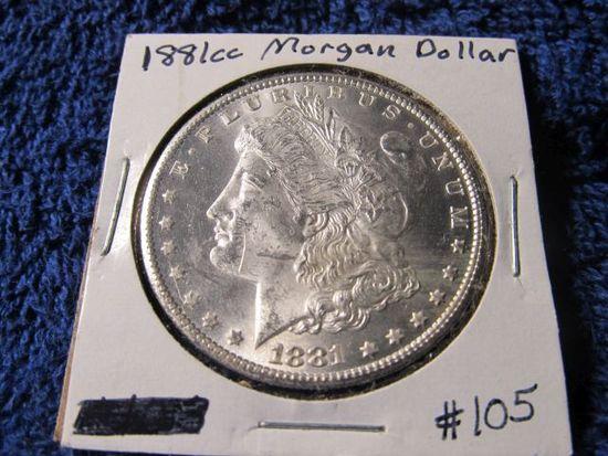 1881CC MORGAN DOLLAR BU