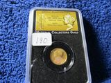 2016W MERCURY DIME CENTENNIAL GOLD PIECE IN NGS HOLDER FIRST DAY OF ISSUE