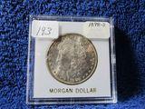 1898S MORGAN DOLLAR BU