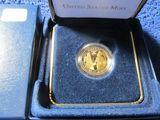 2007W JAMESTOWN $5. GOLD PIECE IN HOLDER PF