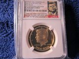 2014W GOLD HIGH RELIEF KENNEDY HALF NGC PF70 ULTRA CAMEO