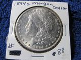1894S MORGAN DOLLAR (SEMI KEY) BU