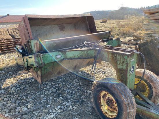 John Deere 700 dirt pull Pan