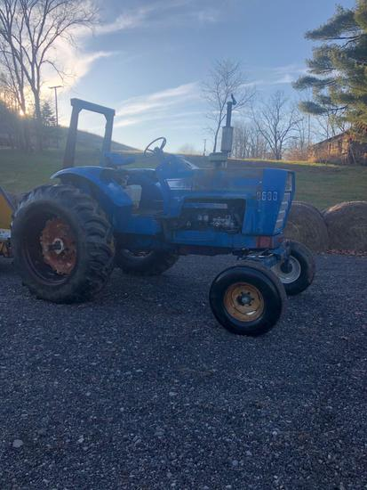 Ford 8600 Tractor- 4,3xx showing on Tach, Tach not currently working, rebuilt injection pump, new