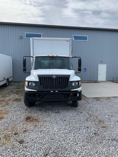 2015 International Terrastar box truck, 16? box, lift gate, 25,000 miles