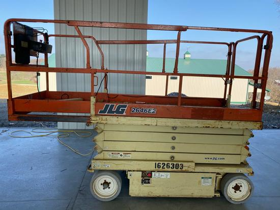 JLG 2642E2 Scissor lift