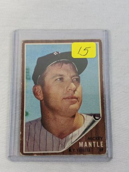 Mickey Mantle '62 Topps