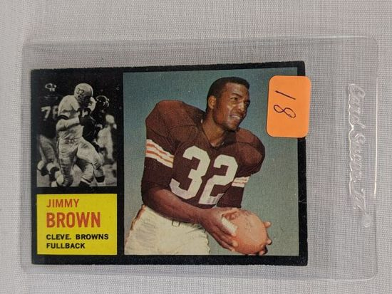 1962 Jim Brown, Topps