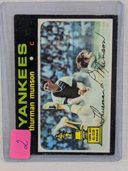 Thurman Munson '71 Topps