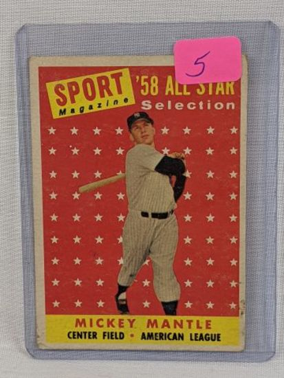 Mickey Mantle '58 Topps