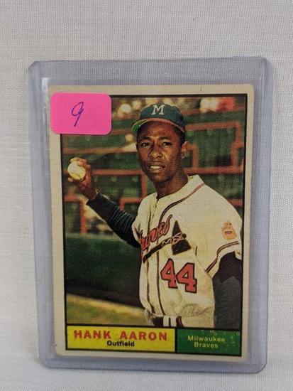 Hank Aaron '61 Topps