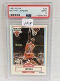 1990 Fleer Michael Jordan PSA 9